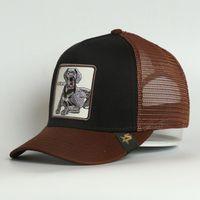 Cappello da camionista del camionista della grande tappo del cappuccio del berretto di cotone dell'anca del pannello 5 del pannello