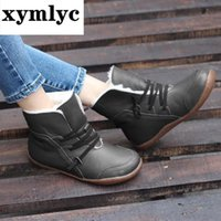 2020 New Hot Style Fashion Women Boots Round Head Thick Bott...