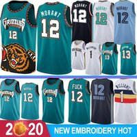 NCAA 1 Zion Williamson College Basketball Jerseys 12 Ja Morant 2 Lonzo Ball 9 RJ Barrett Camisas de basquete S-XXL Stock 2019 2020