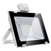 الجيل الخامس من الفيضانات رقيقة جدا مع التعريفي 100W 144 المصابيح عالية مشرق LED الأضواء الكاشف الباردة الأبيض