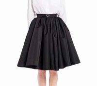 21ss Yeni Tasarımcı Kadın Gömlek Yüksek Kaliteli Bayan Yarım Elbiseler INverted Üçgen Ile En Iyi Maçlar Etekler İlkbahar Yaz Sonbahar Kış SML