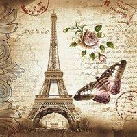 ستائر دش باريس حمام مايلدز بوليستر فراشة روز برج إيفل النسيج للماء مع السنانير