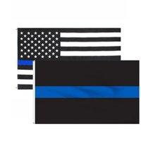 90x150cm US pano bandeira preta fina fina Cinco apontado estrela americana banner Durável bandeiras de alta qualidade lavável 4 9YH G2