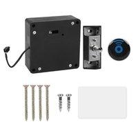 Contrôle d'accès d'empreintes digitales Verrouillage RFID Home Office Smart Tiroir intelligent Cabinet Intelligent Lecteur Invisible Conversion Kit de conversion électrique