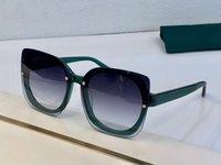 جديد 5886 نظارات شمسية للنساء شعبي ساحة بدون إطار عارضة الأزياء UV400 حماية عدسة الصيف نمط أعلى جودة تأتي مع القضية
