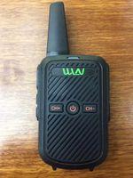 Ultradio رخيصة p wal c50 uhf 400-430 ميجا هرتز المحمولة أفضل رقيقة walkie talkie / اتجاهين راديو 5W الطاقة 1500mAh بطارية صغيرة