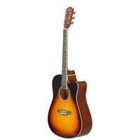41inches Basswood Electric Guitar Cutaway Bassgitarre Holz Griffbrett Akustik A Form Gitarre Musikinstrument