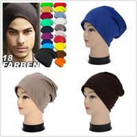 Şeker Renk Erkekler Trendy Hedging Beanies Yeni Moda Kadın Türban Şapkalar Sıcak Satış Örme Hip-Hop Kap