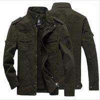 COCEDDB 2018 Nouvelle Arrivée Homme Jacket Slim Fit Haute Qualité Mens d'automne Vêtements Homme Homme Vestes Zipper Coton chaud-Padded1