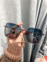 Justin Sonnenbrille Herren Gradient Sonnenbrille Justin Non Brand Eyeware des Lunettes de Soleil für Damen Fashional Sonnenbrille mit Fall