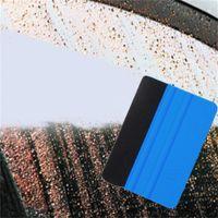 Автомобиль виниловые пленки обертованные инструменты 3M Squeegee упаковка с войлочной мягкой тканью стен бумаги скребок мобильный экран защитник установить инструмент кромки