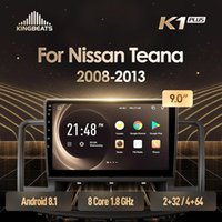 kingbeats 안드로이드 8.1 대시 자동차 라디오에서 4G 멀티미디어 비디오 플레이어 네비게이션 GPS Teana J32 2009 2009 자동차 DVD