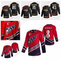워싱턴 수도 2021 Reverse Retro Hockey Jerseys Nick Jensen Ilya Samsonov Brendan Leepsic Martin Fehervary Radko Gudas 사용자 정의 스티치