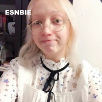Esnbie الصغيرة ريترو جولة نظارات الرجال المعادن الزجاج الإطار خمر النساء oculos دي غراو feminino نظارات Optik رجل T200428