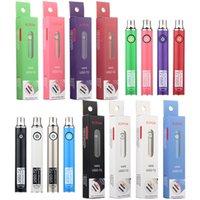 Esmart eCig USB Starter Kits 350mAh Vape Battery USB Charger E Smart V1 Glass Ceril لفائف سميكة من الزيت المرذاذ القلم خرطوشة نفطة مجموعات