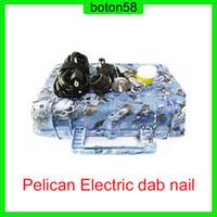 Heißer Verkauf E Nail Pelican Electric DAB Nagel ENAIL Controller Wachs PID TC Box mit 10mm16mm20mm domellosen Spulenheizkörper DNAil
