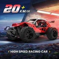 DEERC RC Car Drift 20 Km / h 1:22 Racing RC CARRO 60 MINS PLAY HOME 2.4 GHZ Drift Buggy Carro de brinquedo com baterias para crianças LJ200919