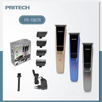 Pritech Аккумуляторная клетка для стрижки волос трансграничный 4-уровневый водонепроницаемый бытовой электрический бритье волосы электрические стрижки для волос мужская электрическая