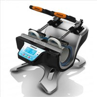ST-210 مزدوجة محطة القدح الصحافة آلة التسامي طابعة آلة نقل الحرارة مزدوجة 11 أوقية القدح كوب الطباعة في وقت واحد