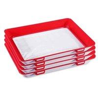 NOUVEAU 3 PCS-vide frais Garder plateau réfrigérateur Clever plateau