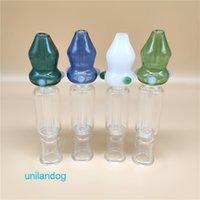 Nuevo Estilo popular OD 1 pulgada Mini néctar Collectorx conjunto adecuado de titanio Consejo de titanio de 14 mm Nails Nail invertida paja de cristal Bongs