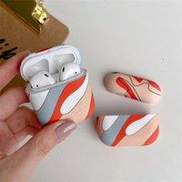 Новые свежие моды Art Простые линии Беспроводные Bluetooth Airpods Case Наушники Наушники Дизайнер AirPod 2 Case Air Pods Airpods Pro Case