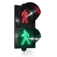 """신호등 IP65 8 """"보행자 교차 LED 신호 레드 맨 중지 녹색 워크 1"""