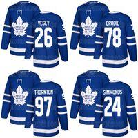 97 Joe Thornton Toronto Maple Leafs 24 Wayne Simmonds 78 T.J. Brodie 26 Jimmy vesey Alexander Kerfoot Tyson Barrie Morgan Rielly Jerseys