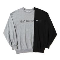 Gosha Mens Sweatshirt Hip Hop Fashion Pulls Pulls à manches longues 3 couleurs lettres russes Sweat-shirt de cou