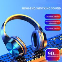 HBQ T5 Wireless Bluetooth Headphones V5. 0 3D Stereo Wireless...