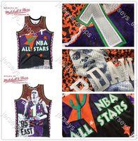 Retro.Orlando.MagiaTutte le stelleMaglie da basket Penny HardAway Mitchellness 1995 Noleggi ricchi di cuciture commemorativeClassics Shirts Sweatspants.