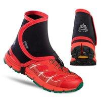 1 пар Открытой обуви Обложка голеностопный Gaiter Песчаной Защитные Gaiter Low Trail Мужчины Женщина Бег Прогулка Marathon Гетры