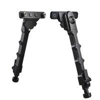 Per M-Lok Rail Pivot Stand Tactical Caccia Accessori regolabili V9 BiPod Side Mount Pieghevole Gambe 6 '' - 8 ''