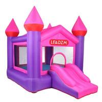 Casa Uso Inflável Castelo Bouncy Castelo Jumping Castelo Bounce Casa Combo Slide Moonwak Trampoline Brinquedos com ventilador de ar