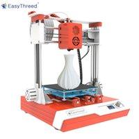 Easythreed K2 Mini Desktop Bambini 3D Stampante 3D 100x100x100mm Stampa muta con schermo LCD Schermo TF Card PLA CAMPIONE FILAMENTO PER BAMBINI