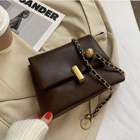 2021 Beliebte Tasche Tasche Frau Neue Atmosphärische Mode Sense Sense Sense Eine Schulter Messenger CC