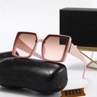 Mode- Designer Sonnenbrillen 2339 Beliebte Frauen Mode Sonnenbrille Square Sommer Stil Vollbild Top Qualität UV-Schutz Sonnenbrillen