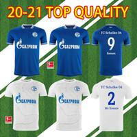 20 21 FC Schalke 04 Soccer Jersey Bentaleb 2019 2020 Schalke Caligiuri Chemise de football Kutucu Burgstaller McKennie Fußball-Trikot Top