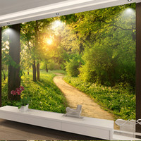 Custom Photo Mural 3D Wallpaper Modern Highway Sunrise HD Living Room Bedroom Home Decor Non-Woven Waterproof