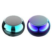 300Mah Mini Metal Bluetooth Small Speaker Card o Portable Ou...