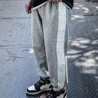 Herren Jogger Hosen Casual Hose Hip-Hop Unisex Hosen Mode Sweatpants Streifen Panalled Bleistift Jogger Pants Asian Größe RXSS