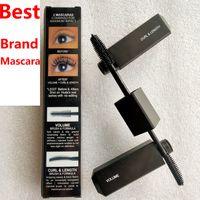 Hot Mascara Black Legit ciglia MASCARA MASCARA MAGGIORE VOLUME CURL Durata Cruling allungamento Due pennelli a due testa Mascara 8.5ml Alta qualità