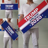 USA الانتخابات العامة ترامب أعلام 2020 مؤيد باليد العلم 24X70CM إبقاء أمريكا العظمى راية الأصالة 5fs F2