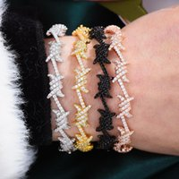 Bangle Godki Fili di lusso Braccialetti Braccialetti Vintage Cubic Zirconia Bracciali Bracciali Bohemian Bracciali per le donne Femme1
