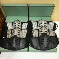 Moda ciclismo máscara máscara máscara máscaras con caja y bolso de polvo hombres mujeres polvo lavable cuero cara máscara reutilizable lux algodón máscara