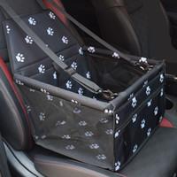 مزدوج سميكة السفر الملحقات شبكة شنقا أكياس قابلة للطي مستلزمات الحيوانات الأليفة ماء الكلب حصيرة بطانية السلامة الحيوانات الأليفة حقيبة مقعد السيارة