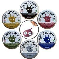Playdough Plasticine Putty DIY Pensamento Marca Magnética Lâmpada De Barra De Lama Forte Mão Miúdos Putty Presente Viscose Educação Borracha Toy Magnético BWIV