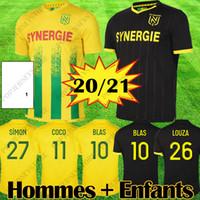 20 21 Mailoots Nantes FC Soccer Jersey Maillot de og Cits 2020 2021 Simon Louza Toure BLAS COCO COULIBALY футбол оборудование