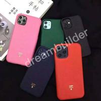 فاخر مصمم الحالات الهاتف لفون 12 برو ماكس 11 7 8 زائد غطاء الأزياء لفون x xs ماكس xr شل vsdrs