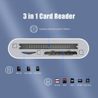 3 в 1 адаптеру типа USB-C в TF SD CF карта памяти Reader OTG Writer Compact Flash для iPad Pro Huawei MacBook Type C Crdreader